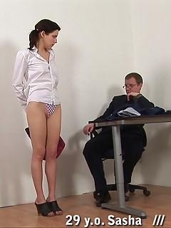 Office porn gals